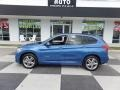 BMW X1 xDrive28i Estoril Blue Metallic photo #1