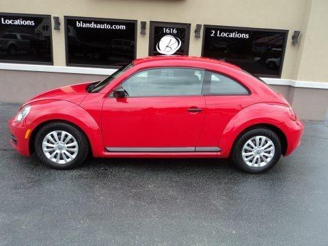 Tornado Red 2012 Volkswagen Beetle 2.5L