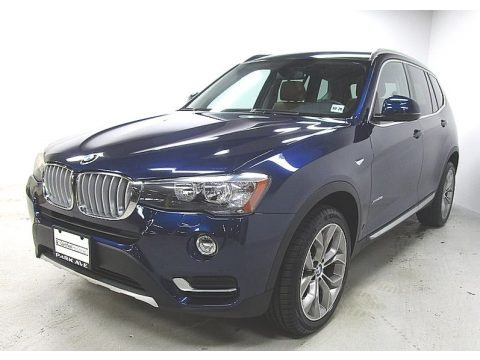 Deep Sea Blue Metallic 2016 BMW X3 xDrive28i