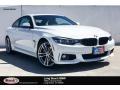 BMW 4 Series 440i Coupe Alpine White photo #1