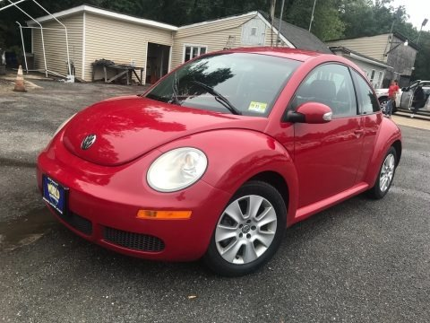 Salsa Red 2009 Volkswagen New Beetle 2.5 Coupe