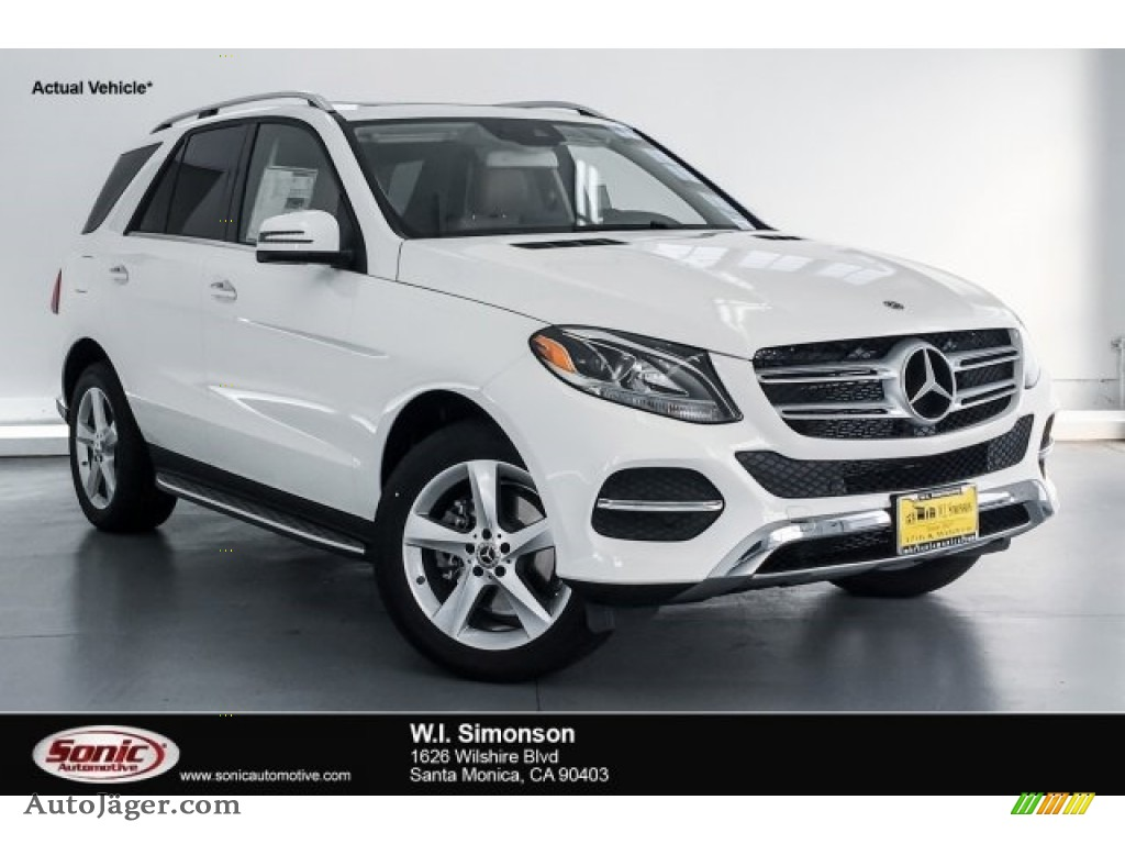2018 GLE 350 - Polar White / Ginger Beige/Espresso Brown photo #1