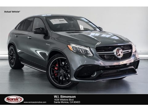 Selenite Grey Metallic 2018 Mercedes-Benz GLE 63 S AMG 4Matic Coupe