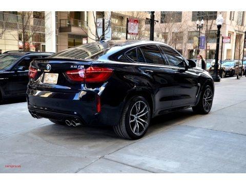 Carbon Black Metallic 2017 BMW X6 M