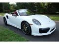 Porsche 911 Turbo S Cabriolet White photo #1