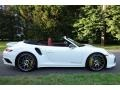 Porsche 911 Turbo S Cabriolet White photo #3