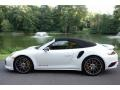 Porsche 911 Turbo S Cabriolet White photo #7