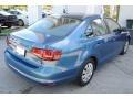 Volkswagen Jetta S Silk Blue Metallic photo #9