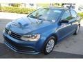 Volkswagen Jetta S Silk Blue Metallic photo #4