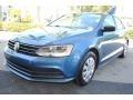Volkswagen Jetta S Silk Blue Metallic photo #5