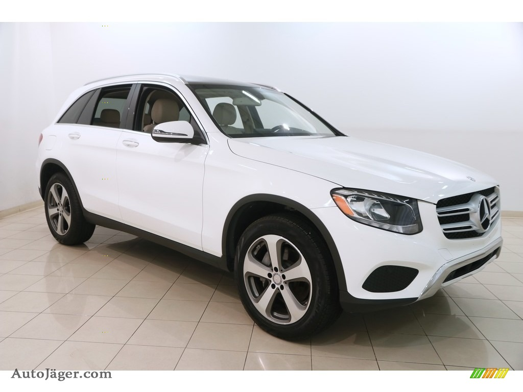 2017 GLC 300 4Matic - Polar White / Silk Beige/Black photo #1