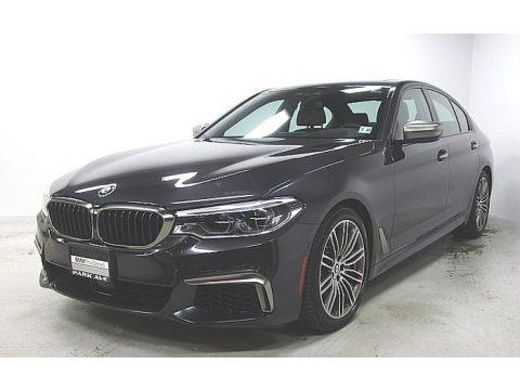 Dark Graphite Metallic 2018 BMW 5 Series M550i xDrive Sedan