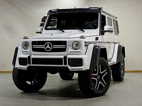 Polar White 2017 Mercedes-Benz G 550 4x4 Squared
