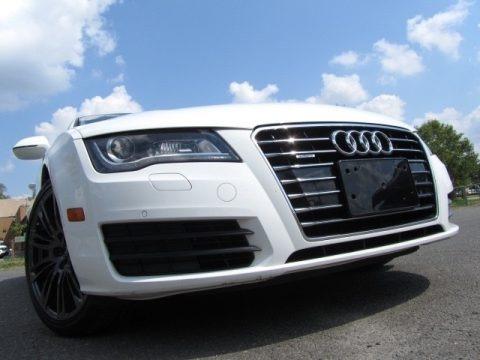 Ibis White 2012 Audi A7 3.0T quattro Premium Plus