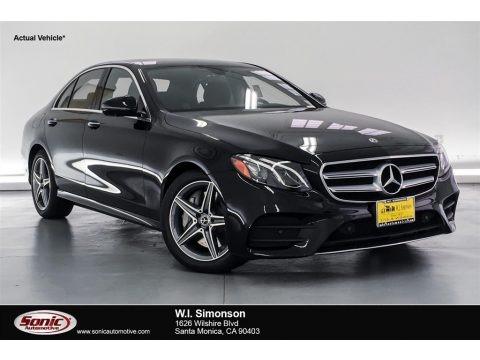 Black 2019 Mercedes-Benz E 300 Sedan