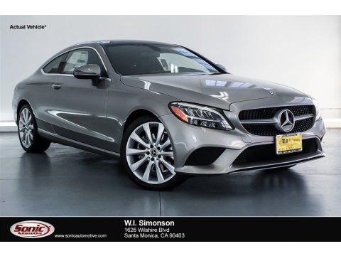 Mojave Silver Metallic 2019 Mercedes-Benz C 300 Coupe