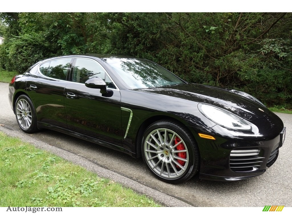 2015 Porsche Panamera Turbo In Jet Black Metallic Photo 8 070439 Auto Jager German Cars For Sale In The Us