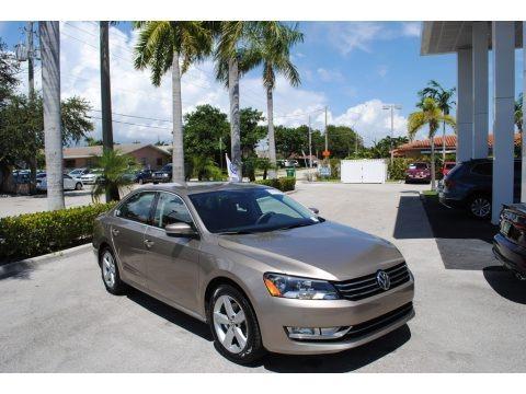 Titanium Beige 2015 Volkswagen Passat Wolfsburg Edition Sedan