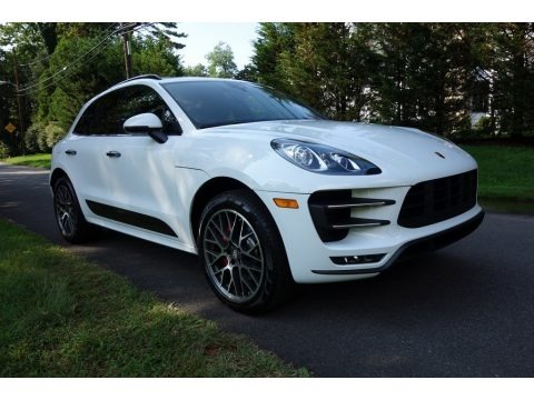 White 2018 Porsche Macan Turbo