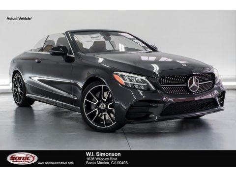 Graphite Grey Metallic 2019 Mercedes-Benz C 300 Cabriolet