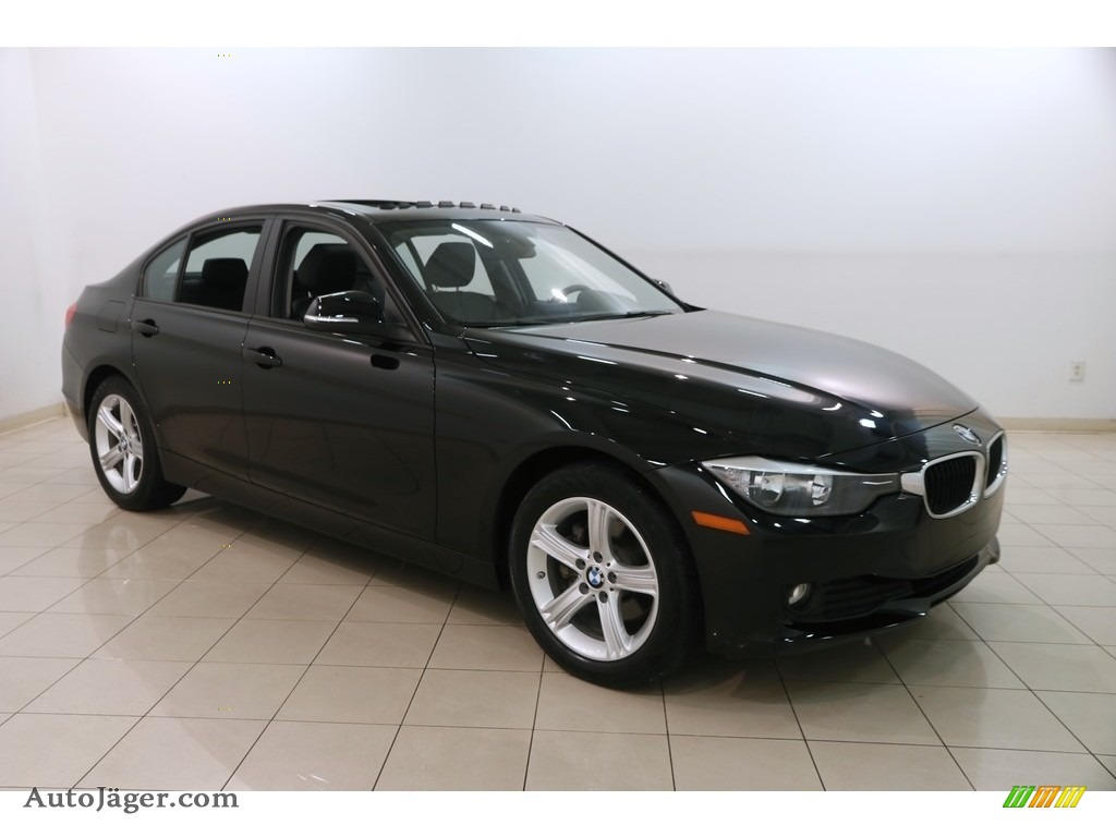2015 3 Series 320i xDrive Sedan - Jet Black / Black photo #1