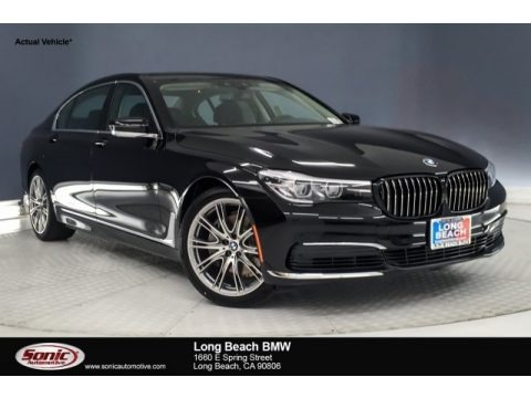 Jet Black 2019 BMW 7 Series 740i Sedan