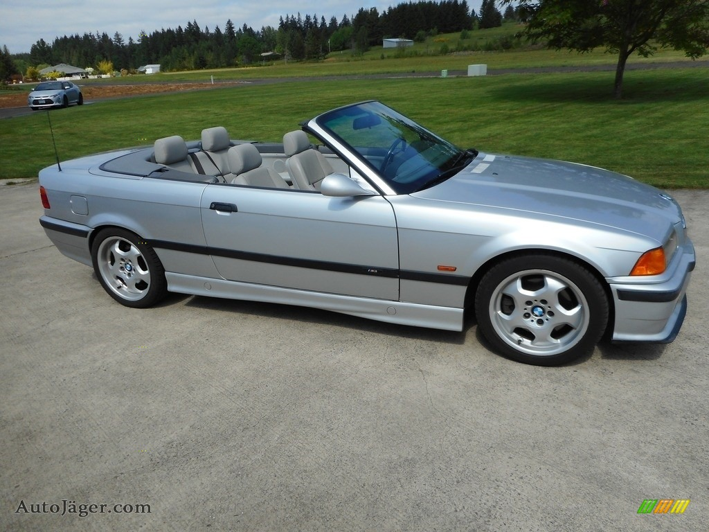 1998 M3 Convertible - Arctic Silver Metallic / Grey photo #1