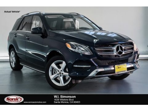 Lunar Blue Metallic 2019 Mercedes-Benz GLE 400 4Matic