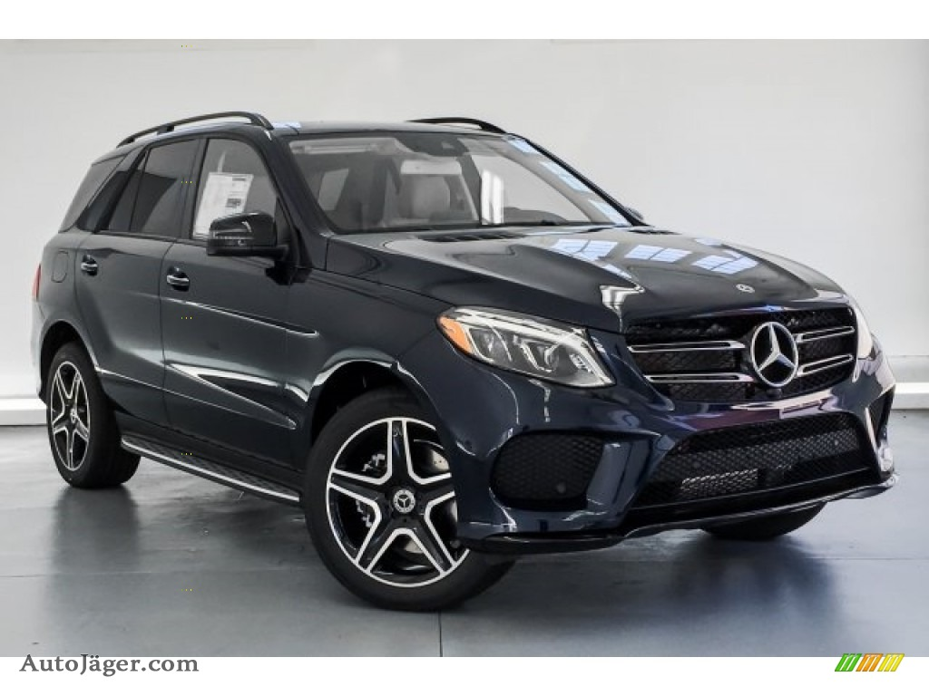 2019 GLE 400 4Matic - Lunar Blue Metallic / Ginger Beige/Espresso Brown photo #12
