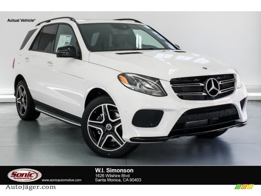 2019 GLE 400 4Matic - Polar White / Black photo #1