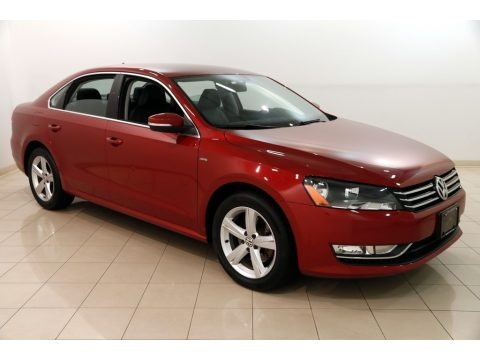 Fortana Red Metallic 2015 Volkswagen Passat S Sedan