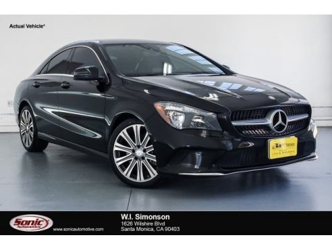 Night Black 2017 Mercedes-Benz CLA 250 Coupe