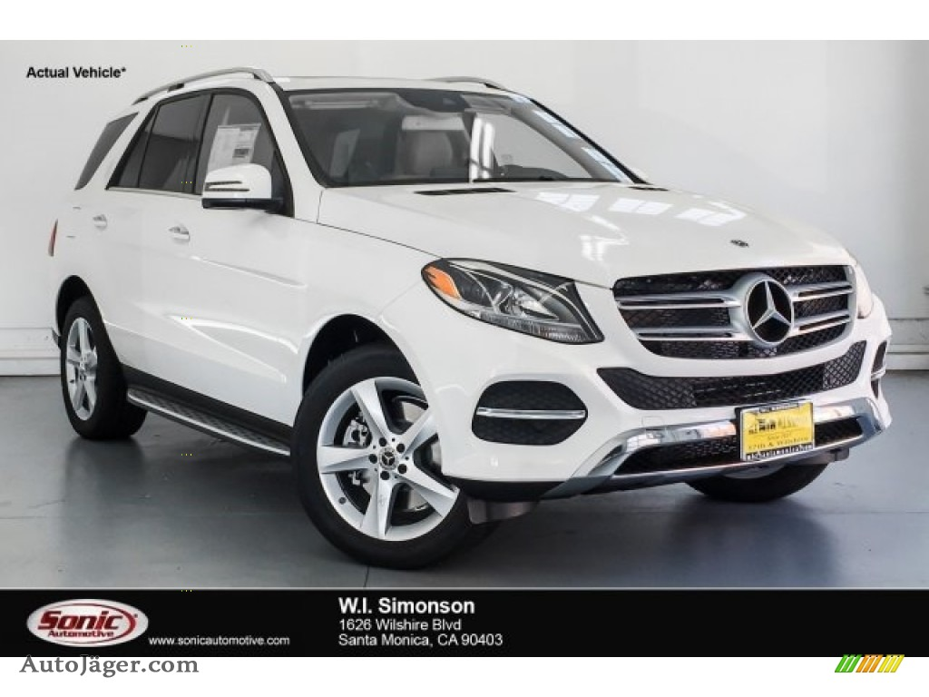 Polar White / Ginger Beige/Espresso Brown Mercedes-Benz GLE 400 4Matic