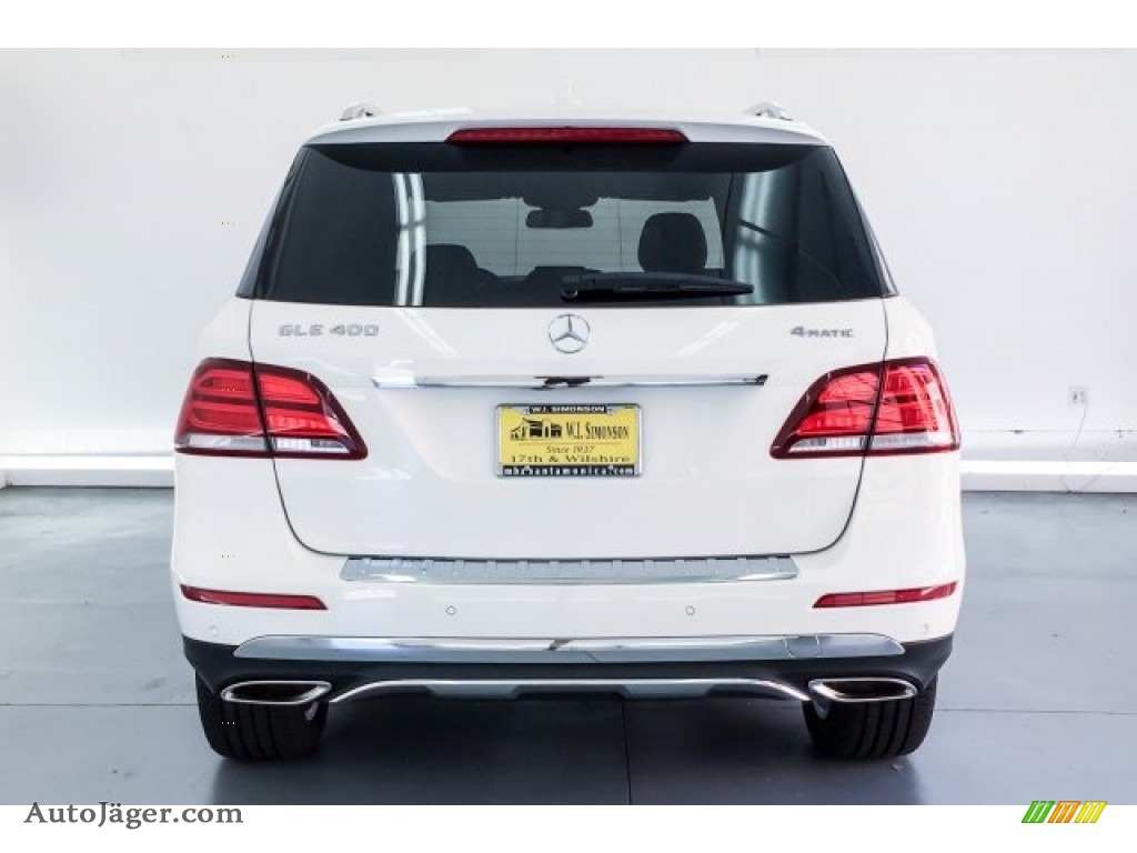 2019 GLE 400 4Matic - Polar White / Black photo #3