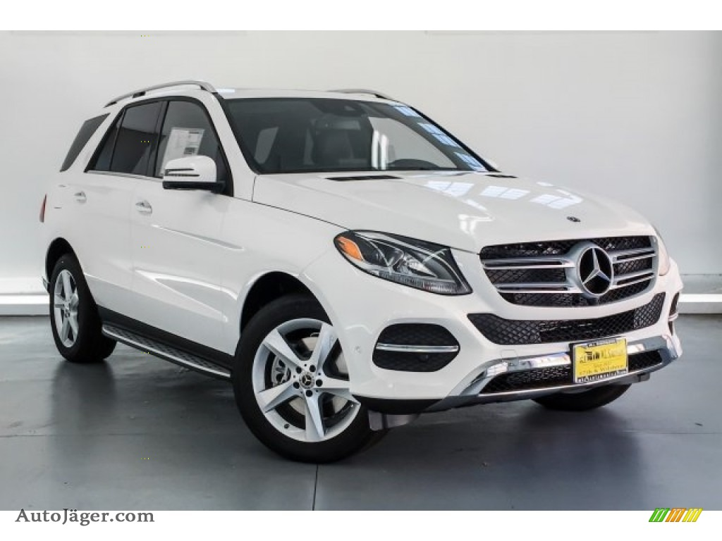 2019 GLE 400 4Matic - Polar White / Black photo #12