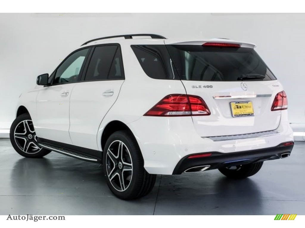 2019 GLE 400 4Matic - Polar White / Black photo #2