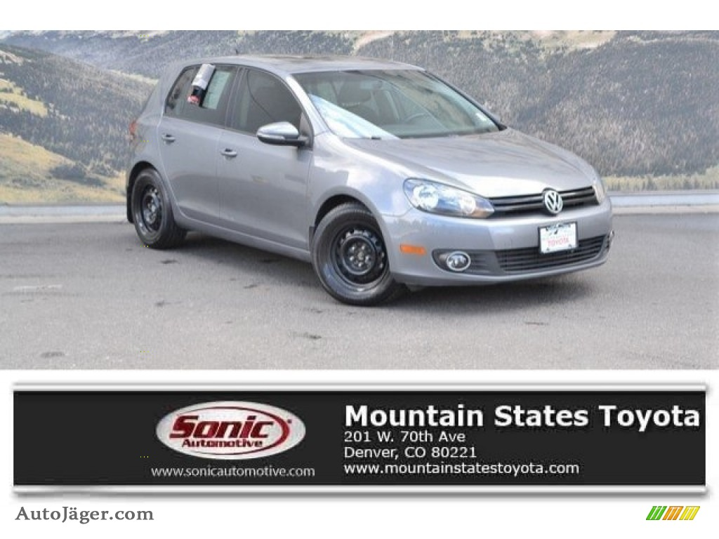 2013 Golf 4 Door TDI - United Gray Metallic / Titan Black photo #1