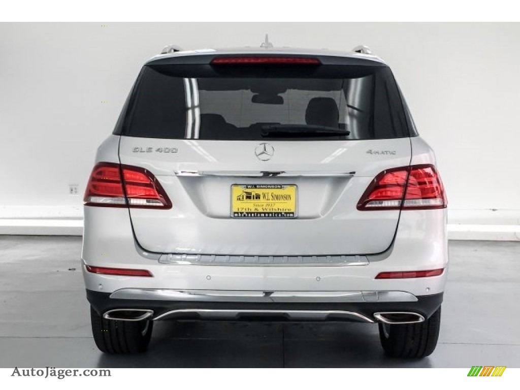 2019 GLE 400 4Matic - Iridium Silver Metallic / Black photo #3