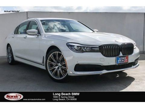 Alpine White 2019 BMW 7 Series 740i Sedan