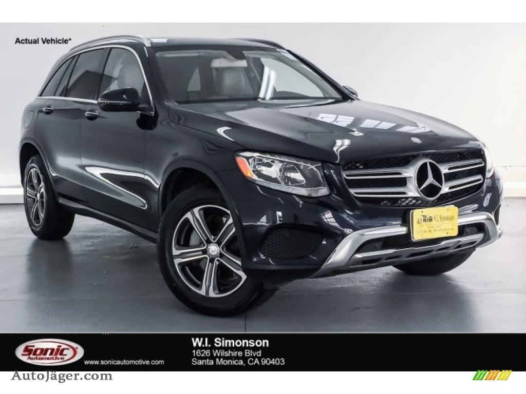 Lunar Blue Metallic / Silk Beige Mercedes-Benz GLC 300 4Matic
