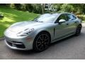 Porsche Panamera 4S Rhodium Silver Metallic photo #8