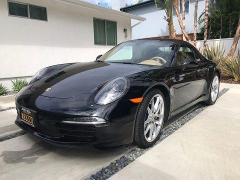 Black 2015 Porsche 911 Carrera Cabriolet