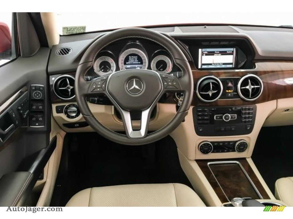 2015 GLK 350 - Mars Red / Sahara Beige/Mocha photo #4