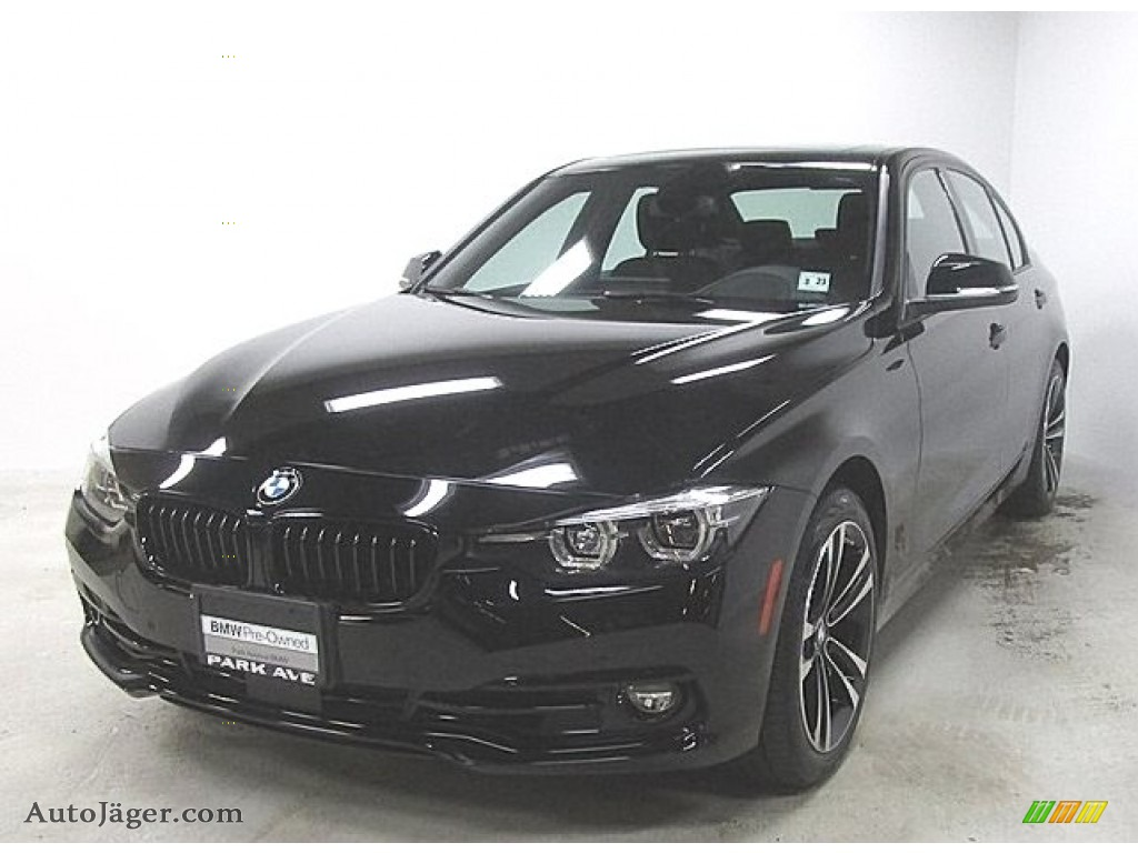 2018 3 Series 330i xDrive Sedan - Jet Black / Black photo #1