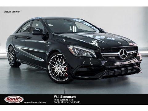 Night Black 2018 Mercedes-Benz CLA 250 4Matic Coupe