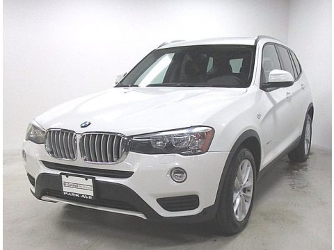 Alpine White 2016 BMW X3 xDrive28i