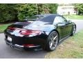 Porsche 911 Carrera 4S Cabriolet Jet Black Metallic photo #6