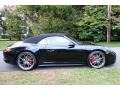 Porsche 911 Carrera 4S Cabriolet Jet Black Metallic photo #7