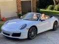 Porsche 911 Carrera Cabriolet Carrara White Metallic photo #17
