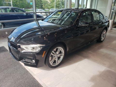 Black Sapphire Metallic 2018 BMW 3 Series 330i xDrive Sedan
